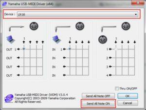Yamaha UX-16 USB-MIDI Interface - Treiber