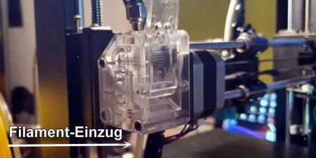 AnyCubic Feeder Filament Einzug