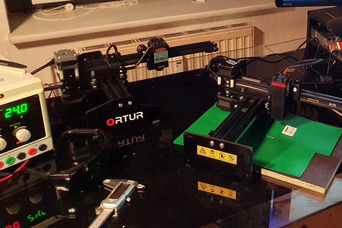 Dioden Laser im Hobby