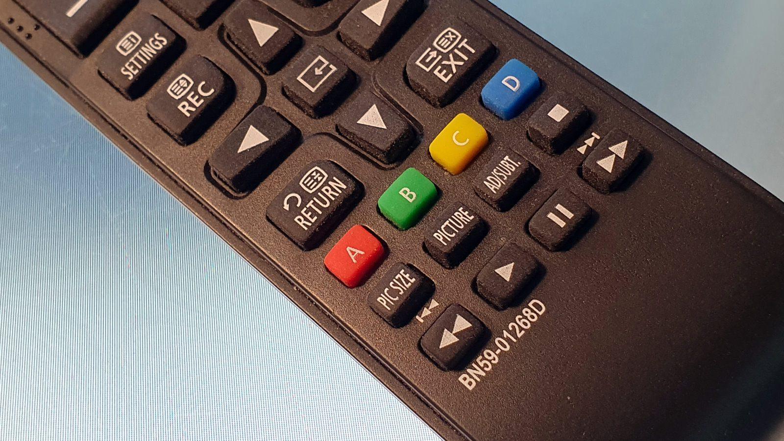 Ersatz Fernbedienung BN59-01268D für 49 Zoll TV Samsung MU6199