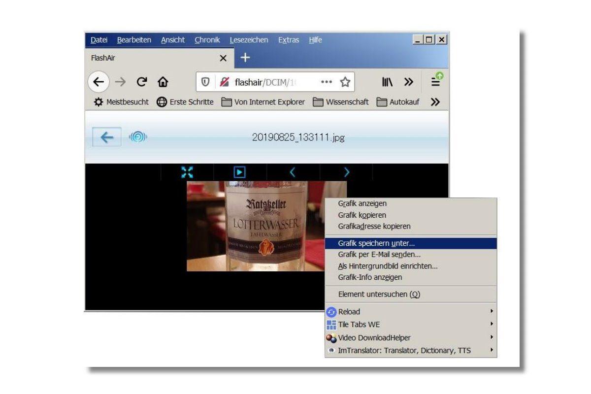 Flash Air Browser