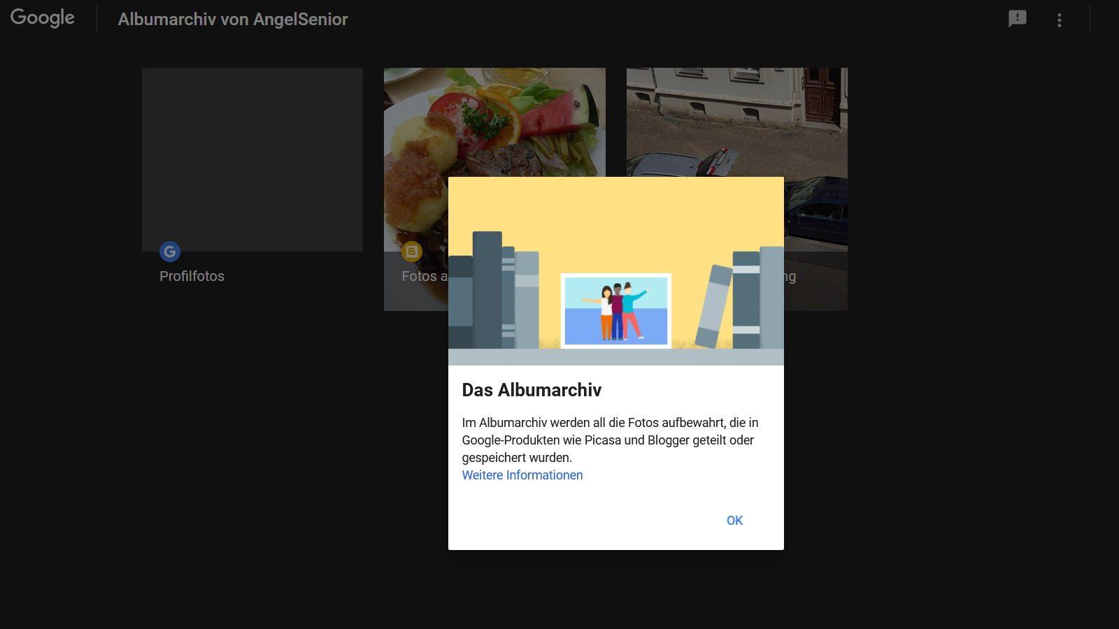 Google speichert automatisch Smartphone Fotos im Internet im Album für Picasa