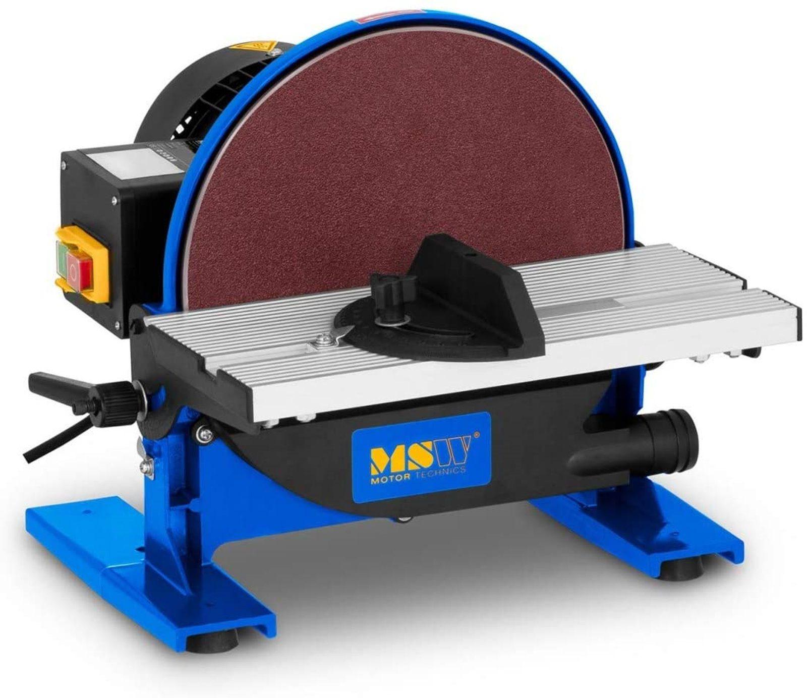 MSW Tellerschleifer Tellerschleifgerät mit Staubabsaugung MSW-DS550