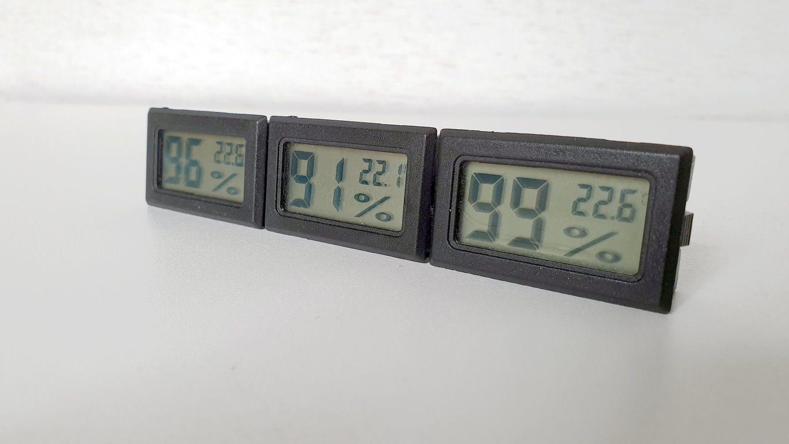 Mini LCD Digital Hygrometer Thermometer von EEEKit