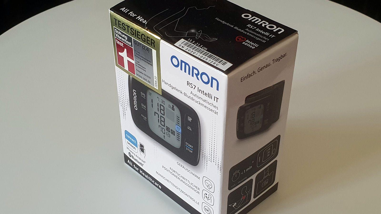 Omron RS7 Intelli IT Blutdruckmessgerät